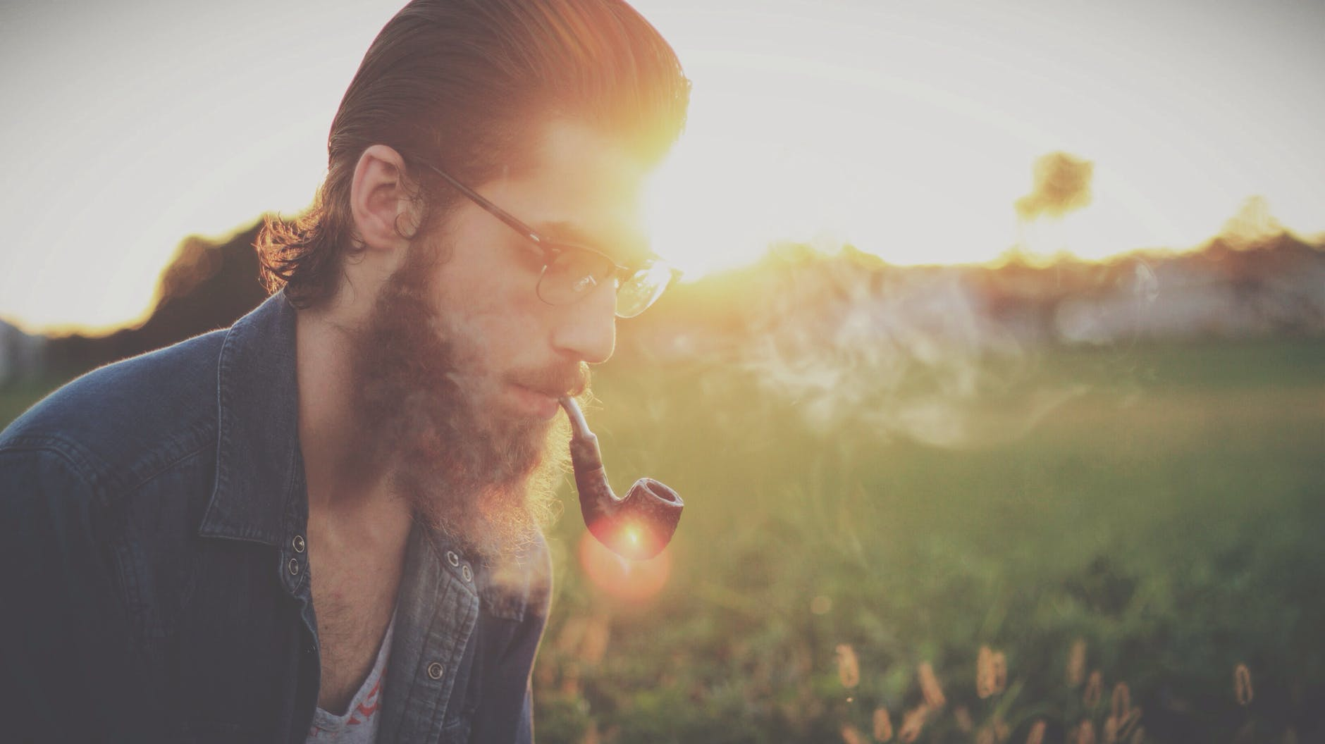 man smoking pipe for direct composite veneers smoking blog